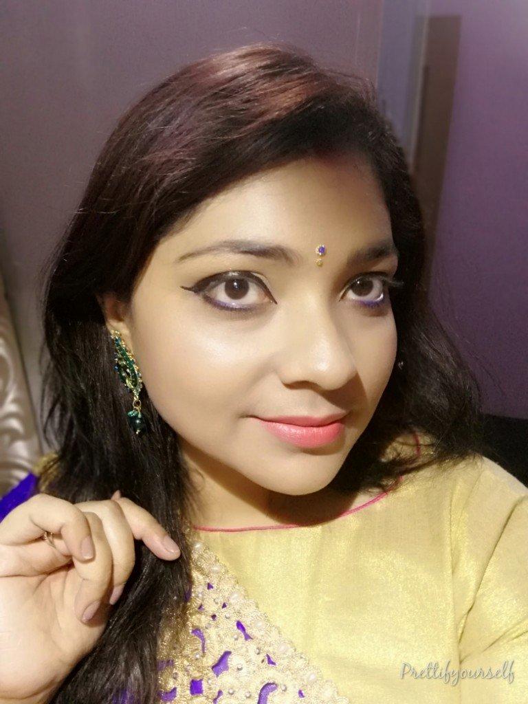 wedding guest makeup look