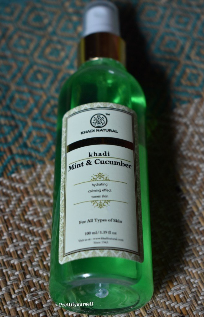 khadi-mint-and-cucumber-facial mist-spray-review