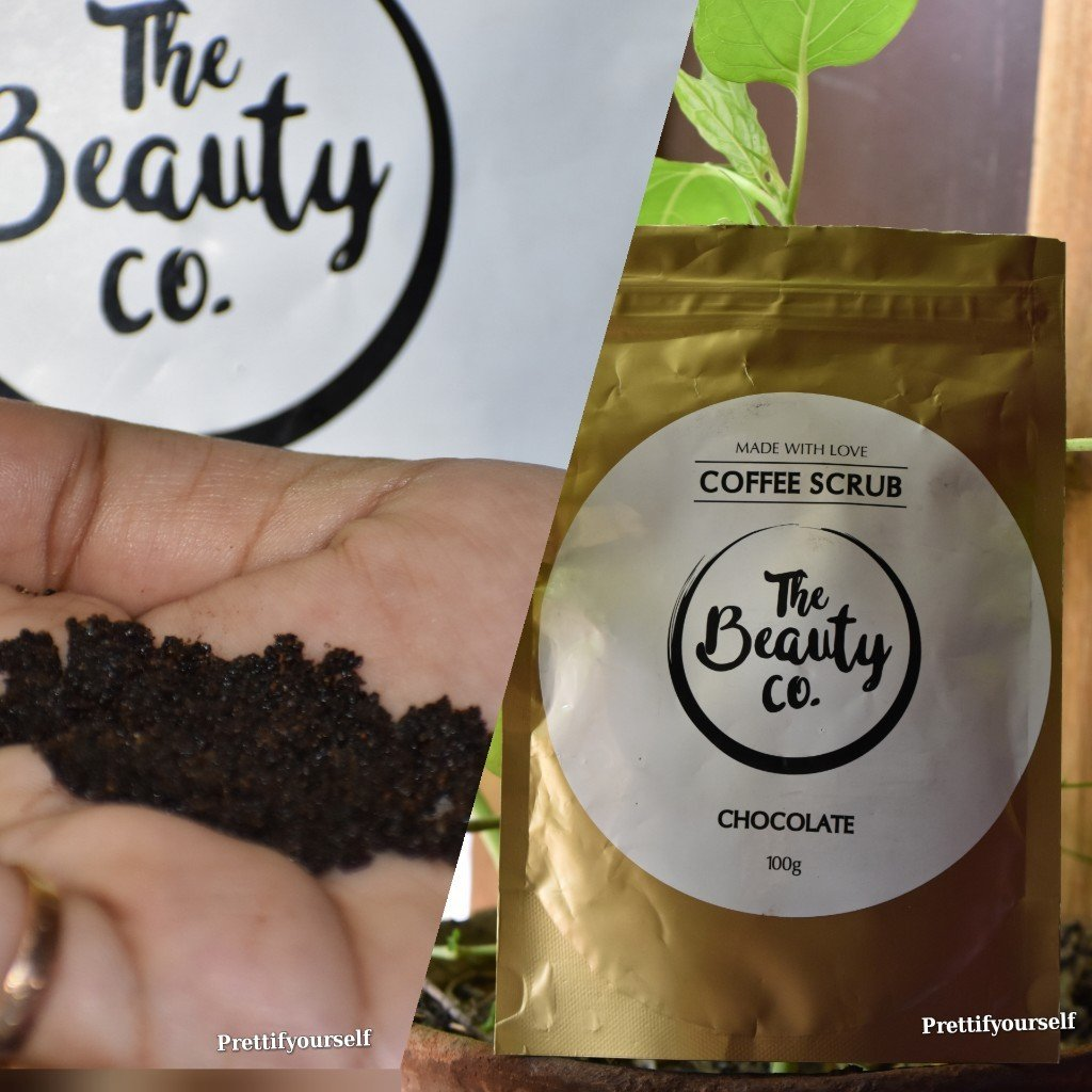 featured image of the beauty co coffee scrub