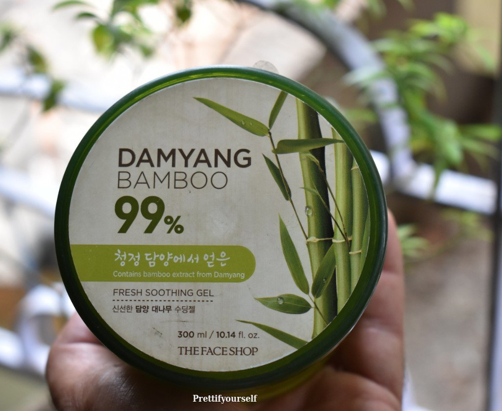 The Face Shop Damyang Bamboo Fresh Soothing Gel