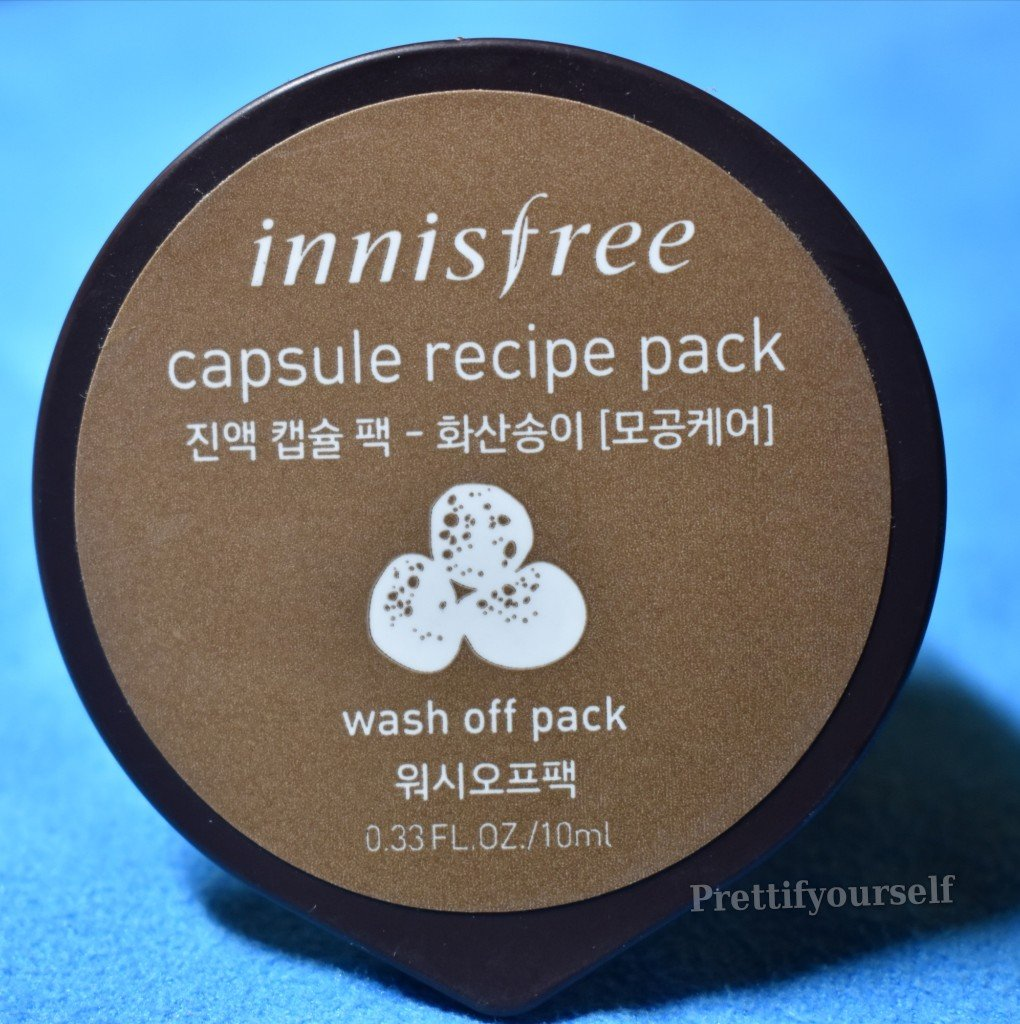 Insfree Capsule Recipe Pack Volcanic Cluster