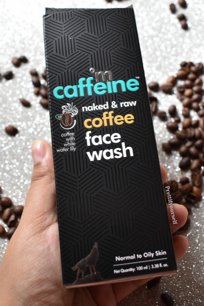 coffee infused face wash