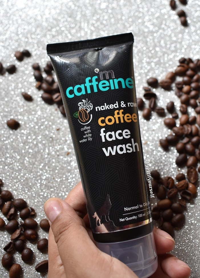 mcaffeine coffee infused face wash