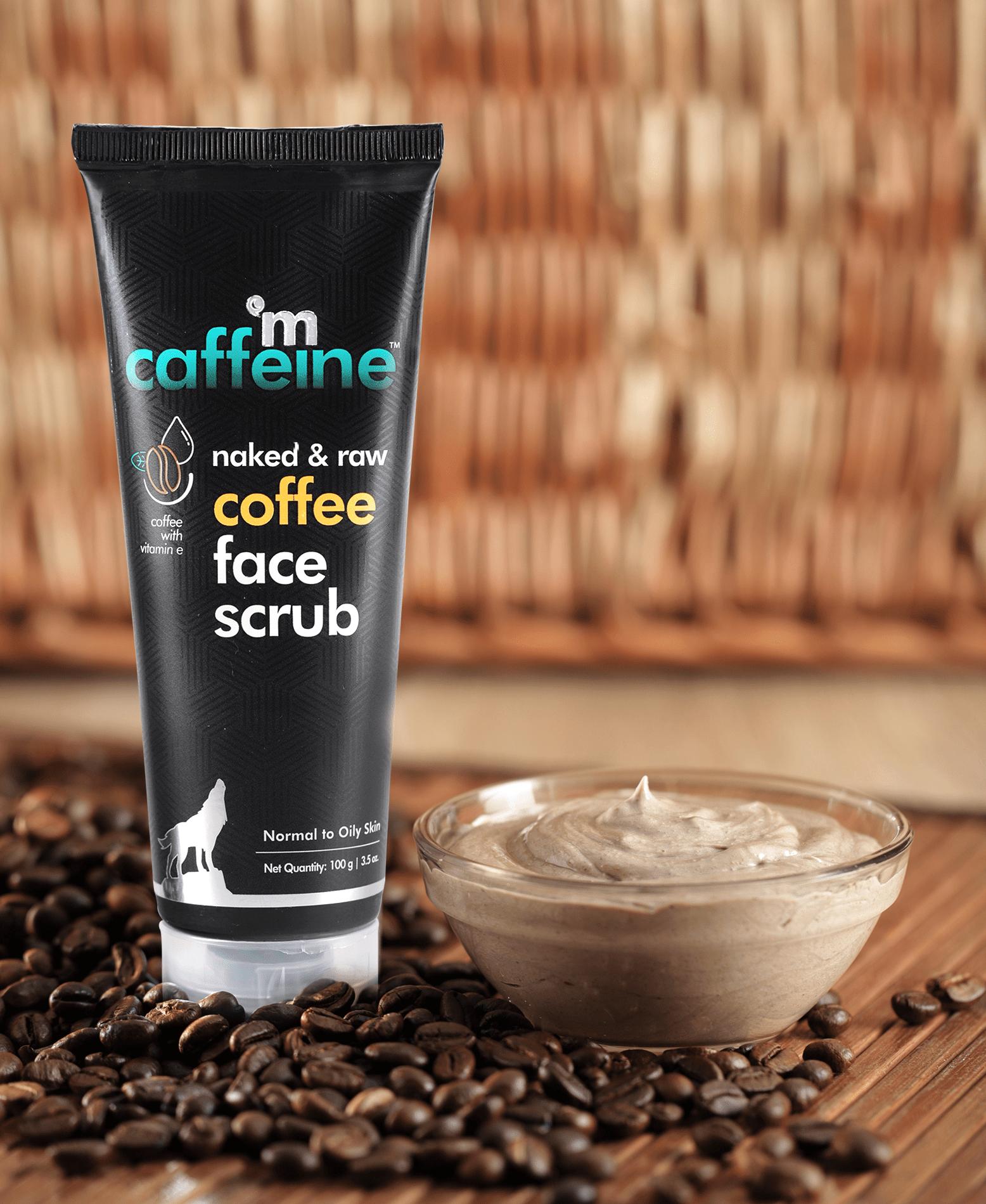 coffee face scrub 2