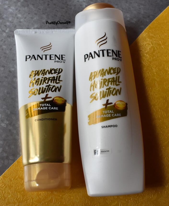 pantene advansed hairfall solution total damage care