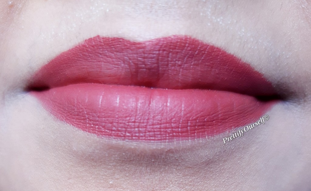 my experience with lakme 9to5 mousse lipcolor brick broom