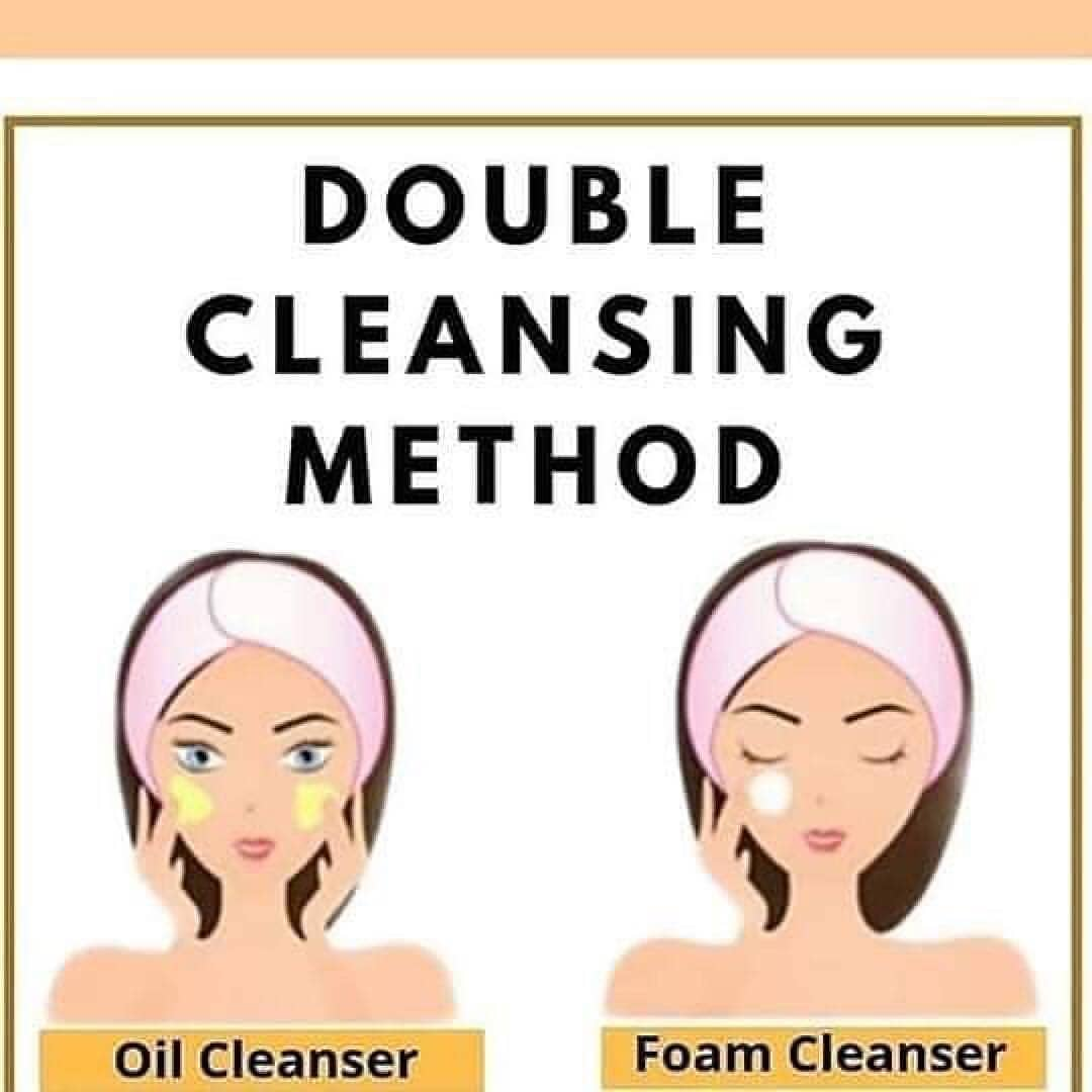 Korean Cleansing Process- Double Cleansing Method