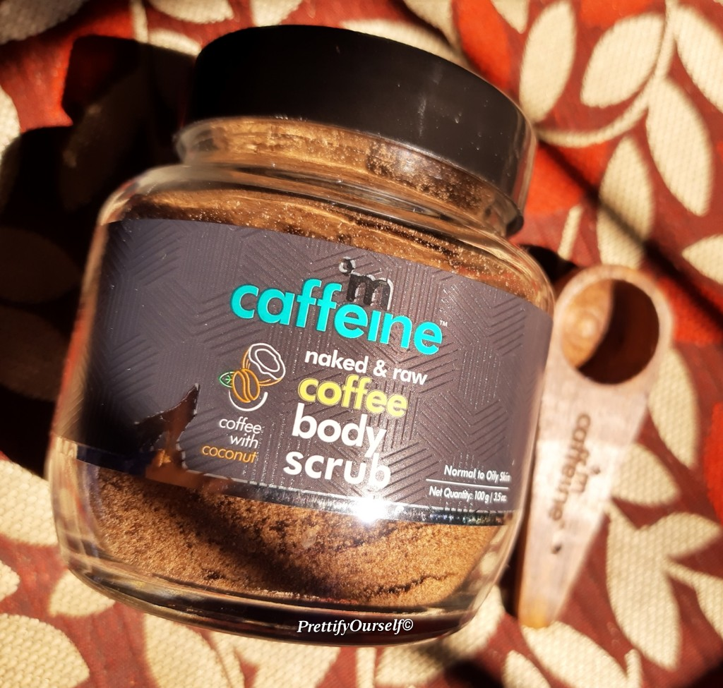 mcaffeine coffee body scrub