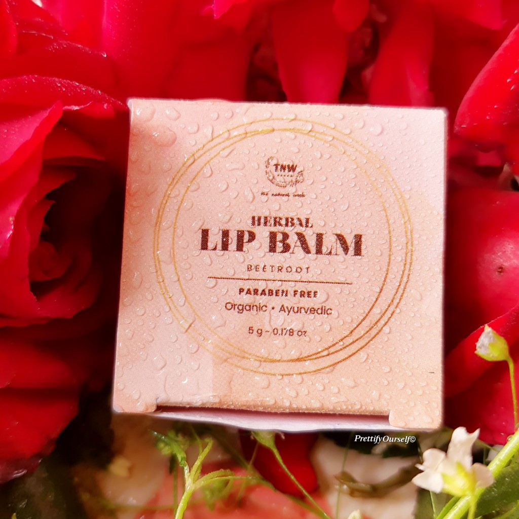 TNW beetroot lip balm review
