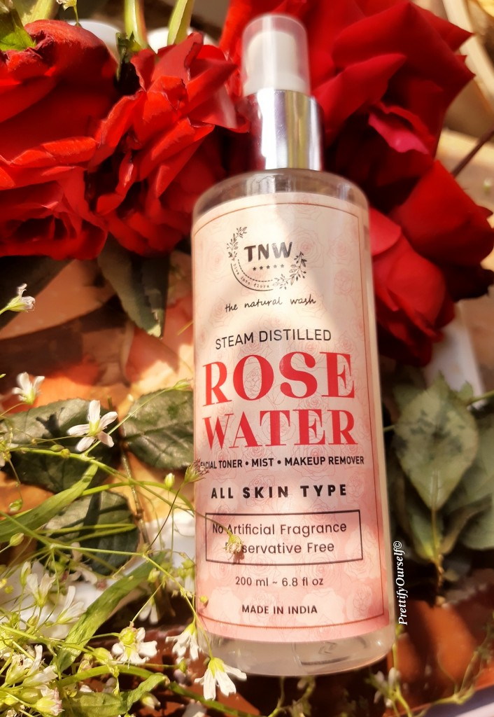 The Natural Wash (TNW) Distilled Rose Water