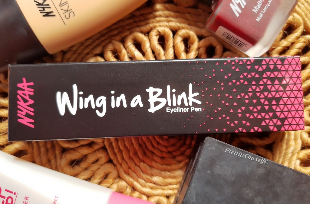nykaa wing in a bling eyeliner pen