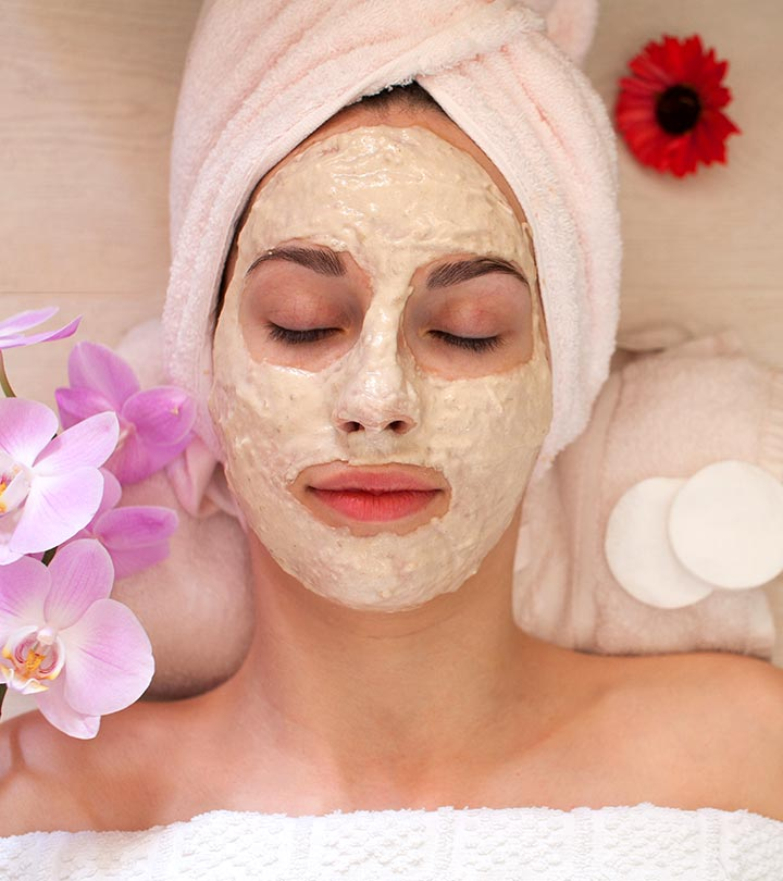 face pack with rose water