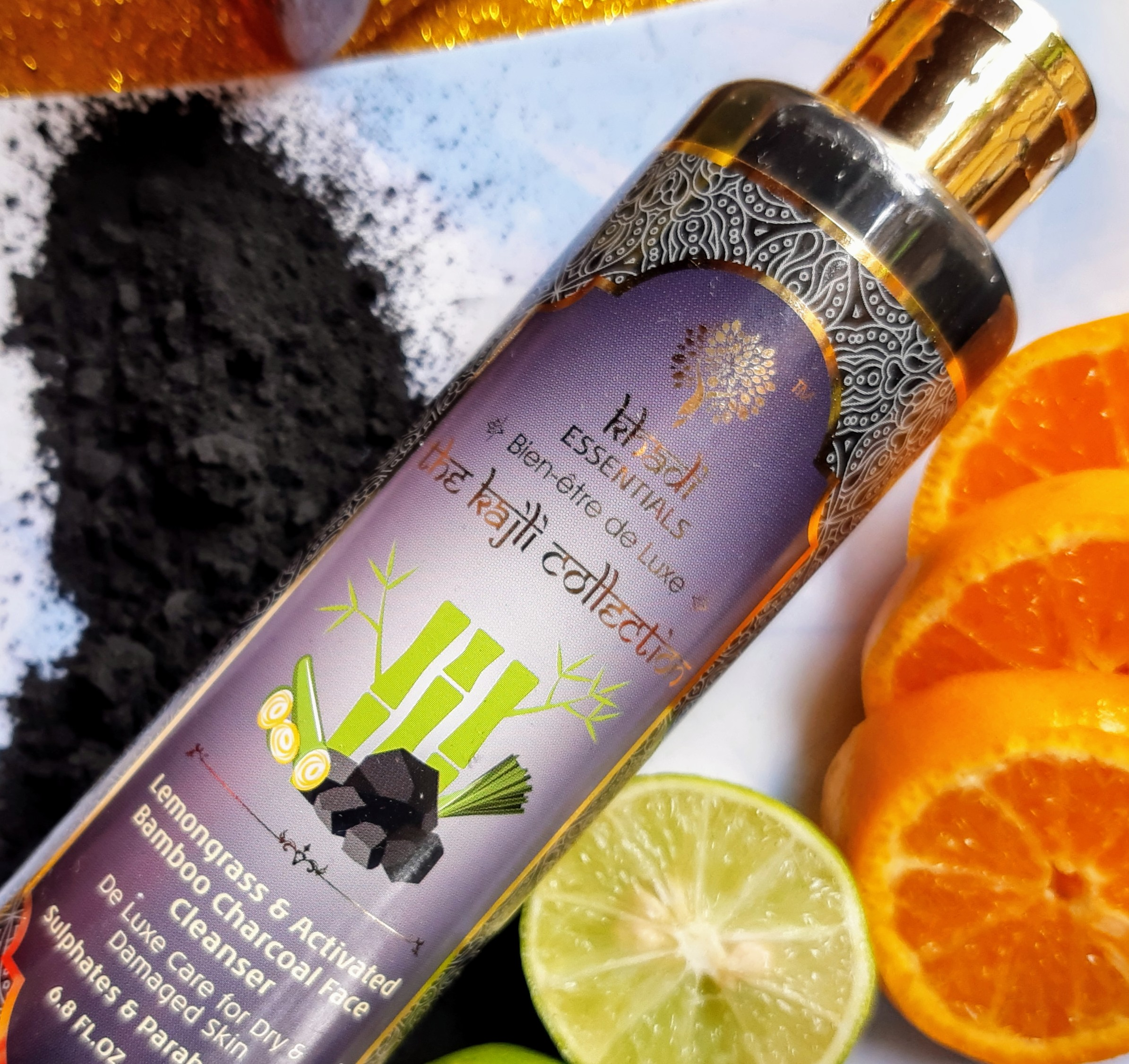 khadi essencial charcoal face wash