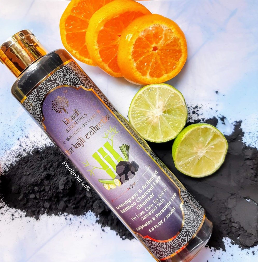 khadi essentials charcoal face cleanser