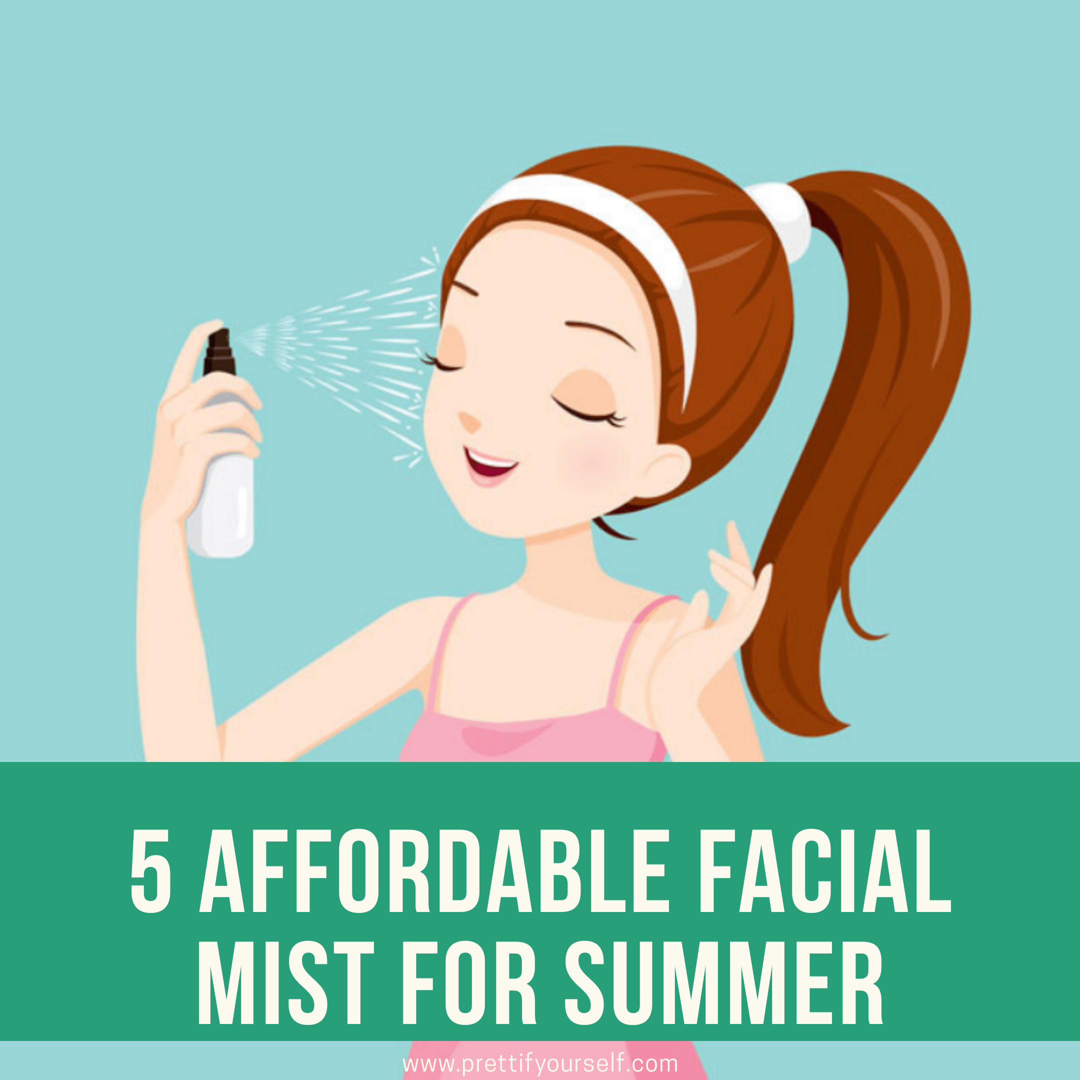 5 affordable facial mist for summer