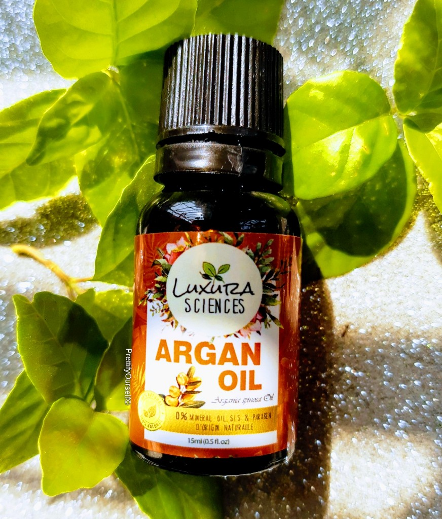 luxura sciences pure argan oil