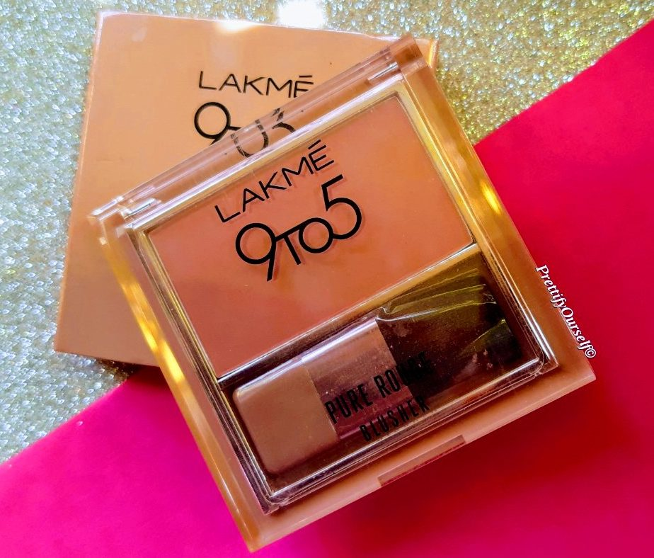 lakme 9to5 pure rough matte blusher is one of the best matte blusher