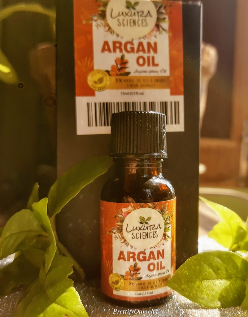 luxura sciences argan oil for hair