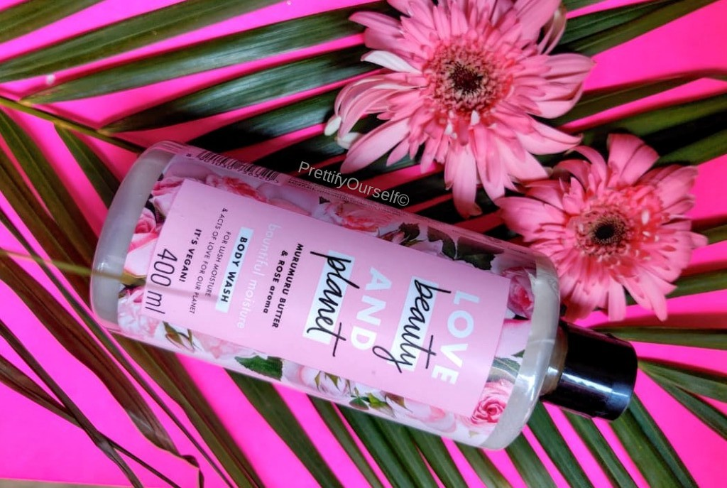 love beauty and planet rose body wash review