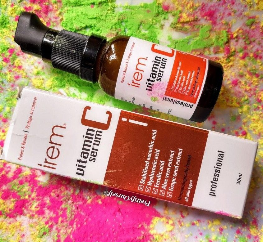 irem vitamin c serum for face with hyaluronic acid