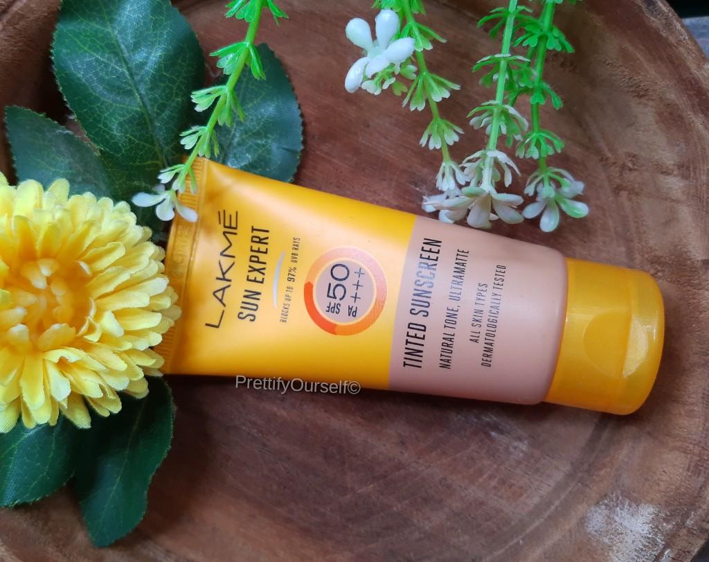 lakme sunexpert tinted sunscreen