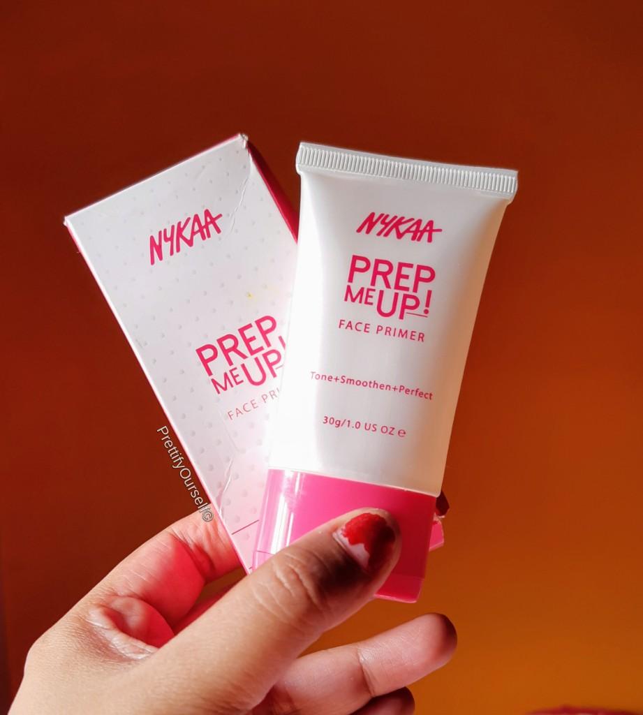 nykaa prep me up makeup primer review