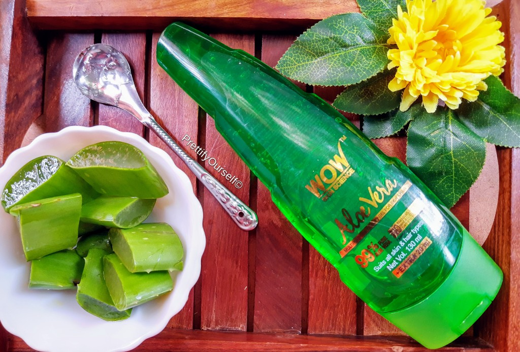 wow skin science aloe vera gel benefits