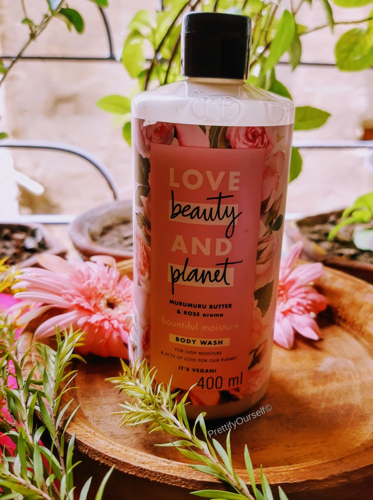 love beauty and planet rose body wash