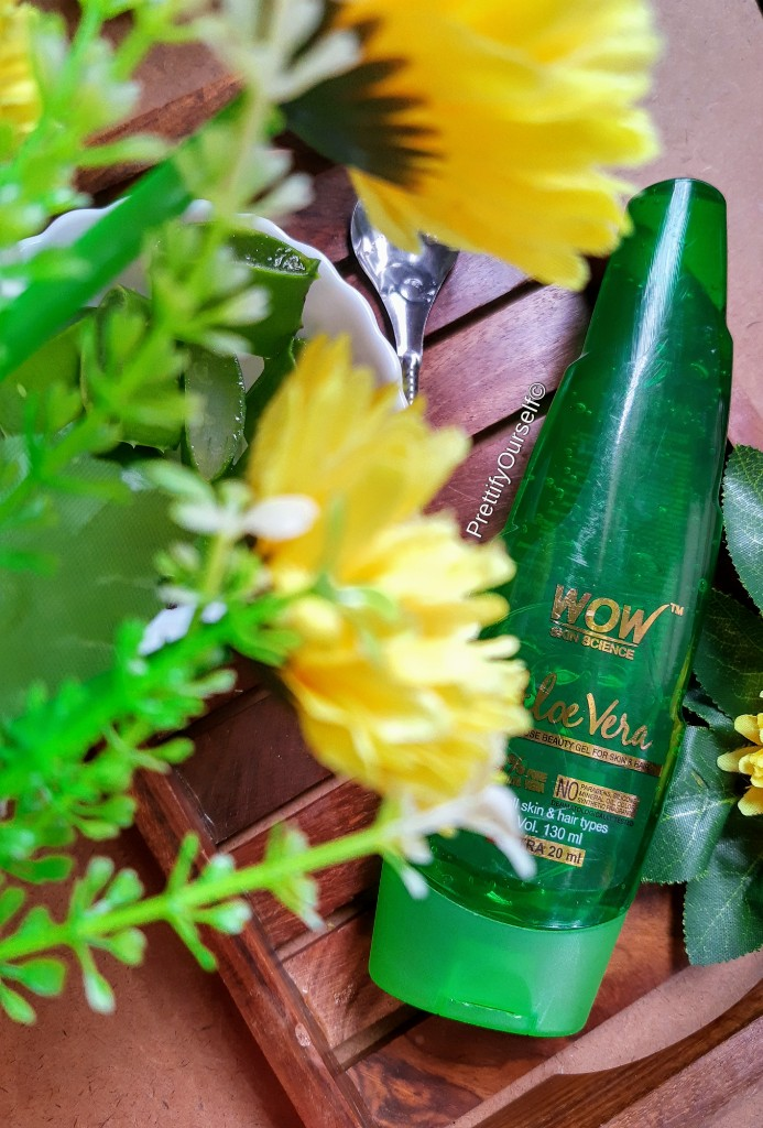 wow skin science aloe vera gel review