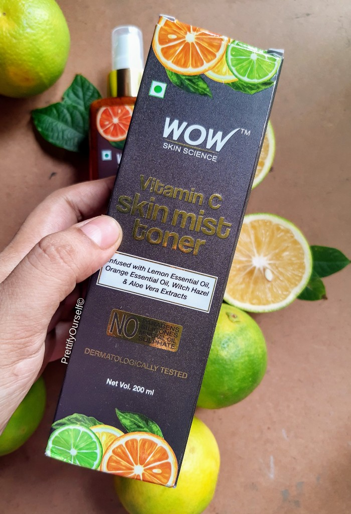 wow vitamin c mist toner packaging