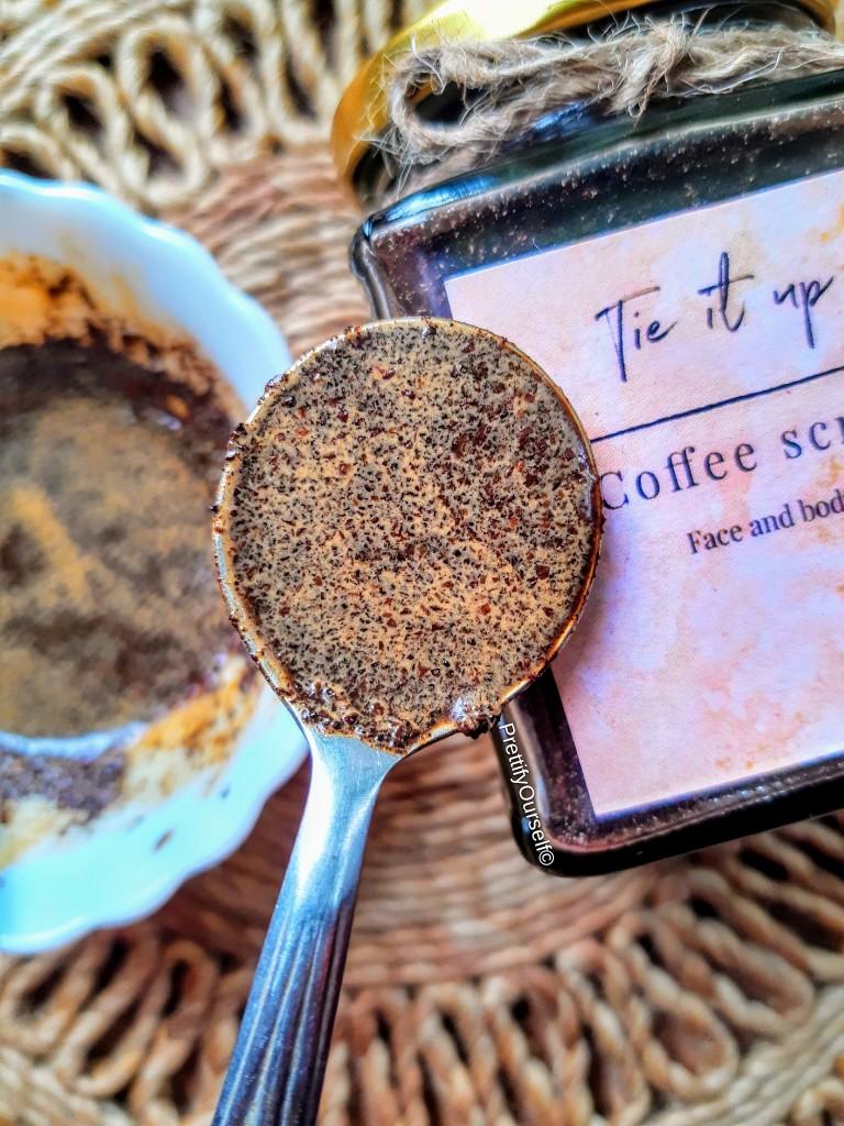 coffee sugar scrub benefits