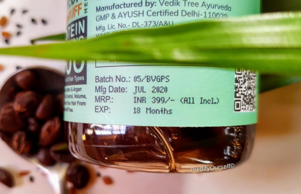PRICE OF bella vita organic shampoo for HAIR LOSS