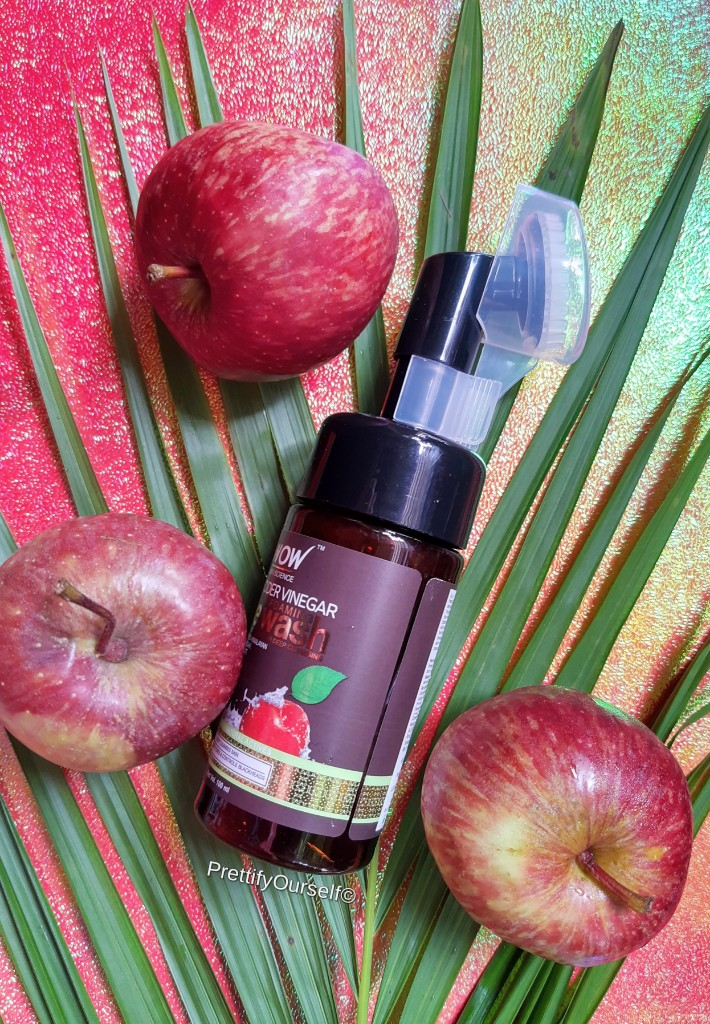 WOW Apple Cider Vinegar Foaming Face Wash review