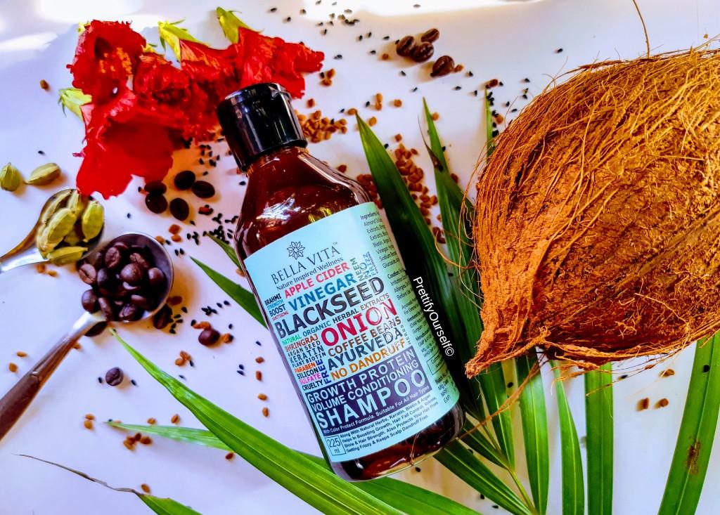bella vita organic shampoo for hair growth