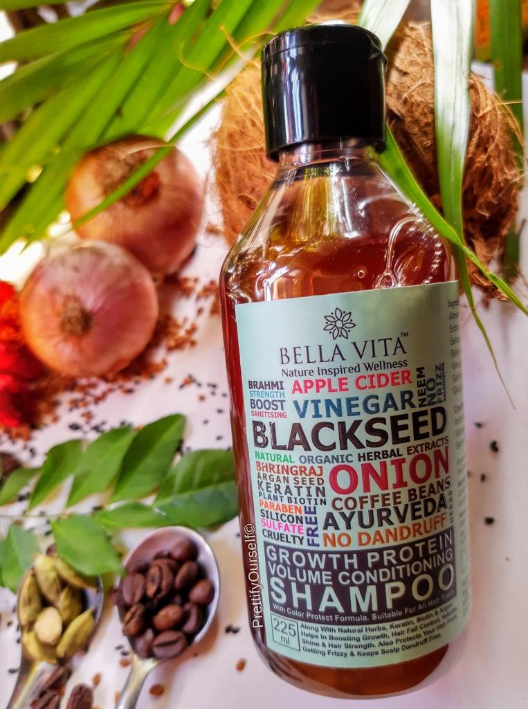 bella vita organic shampoo for hair thinning hair images