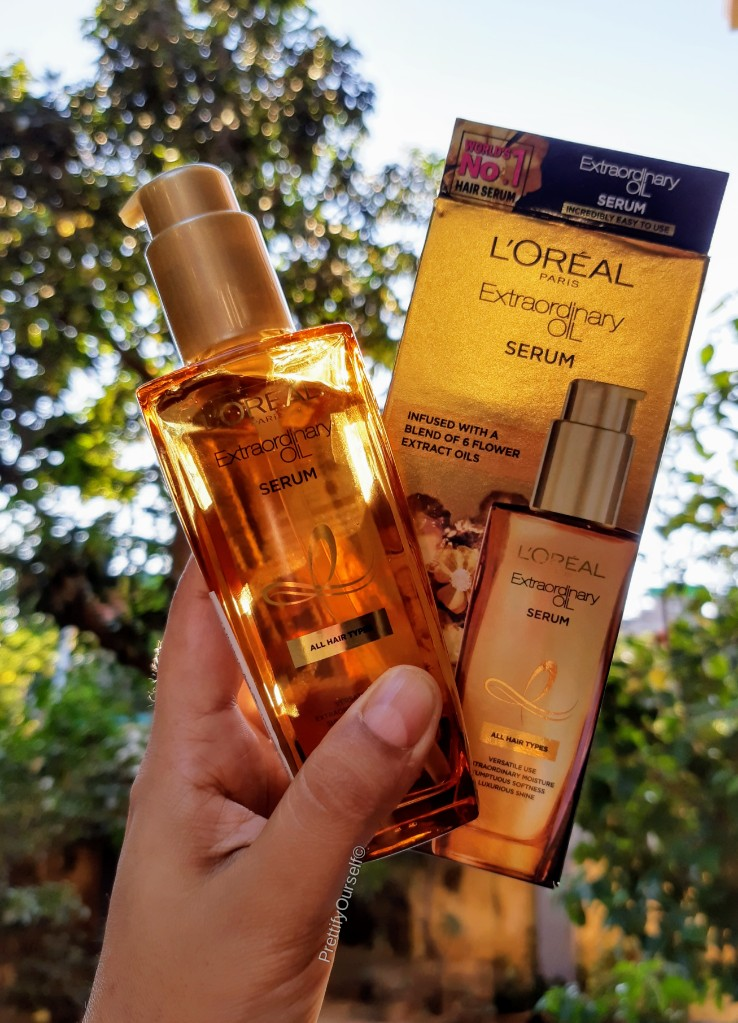 Loreal Paris Extraordinary Oil Serum Review