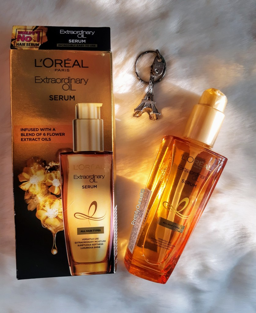 Loreal Paris Extraordinary Oil Serum for dry frizzy hair