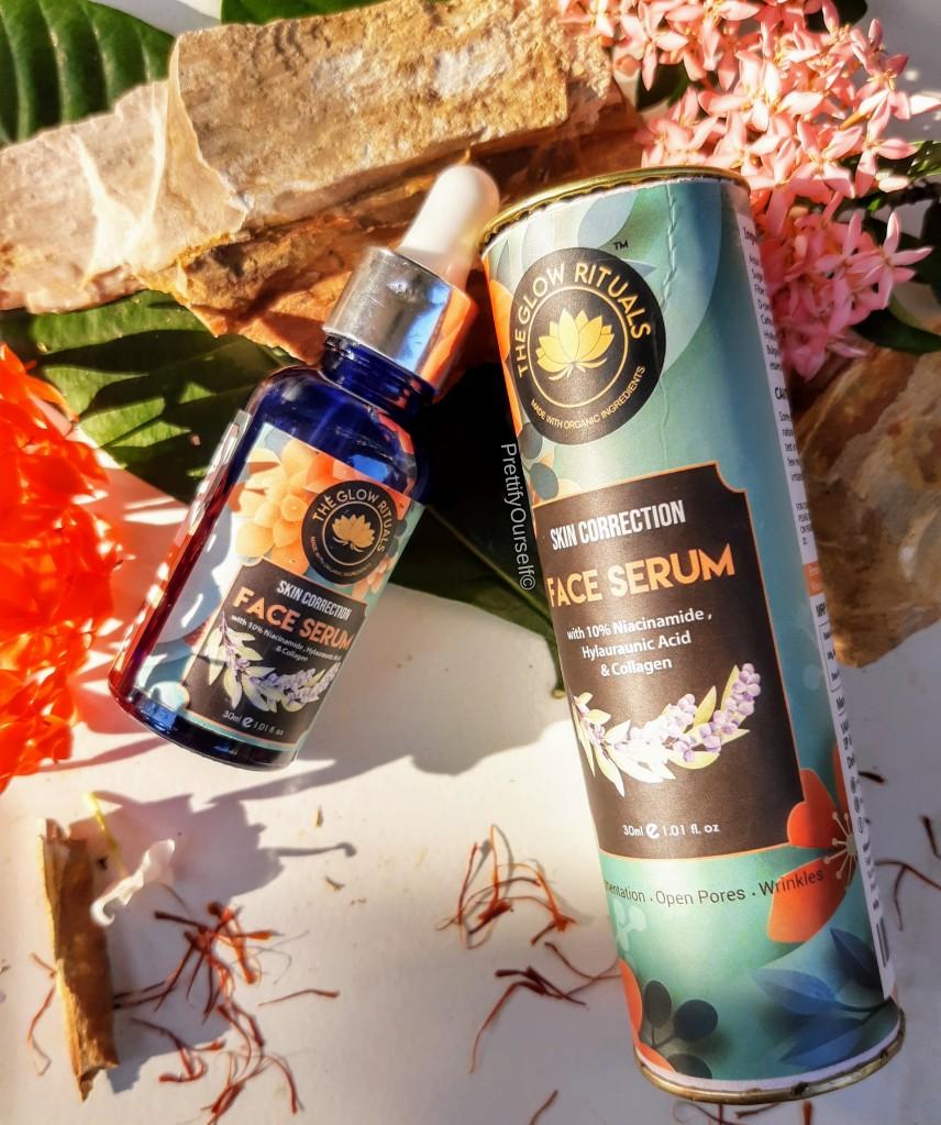 the glow rituals skin correcting serum for glowing skin