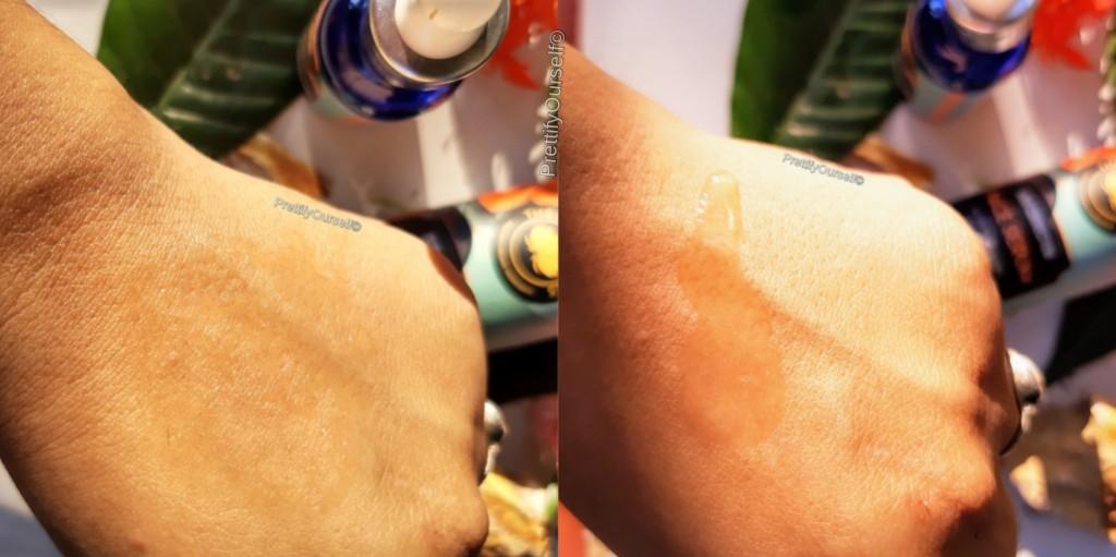 the glow rituals skin correcting serum texture