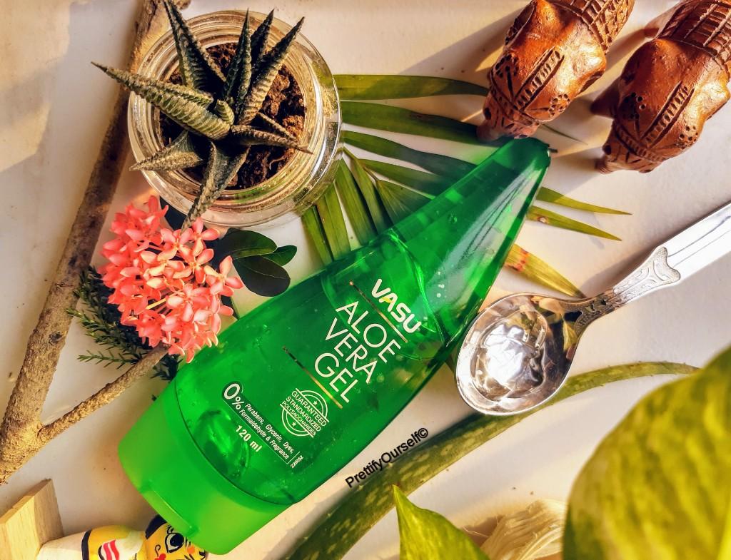 Vasu Aloe Vera Gel Review in Details