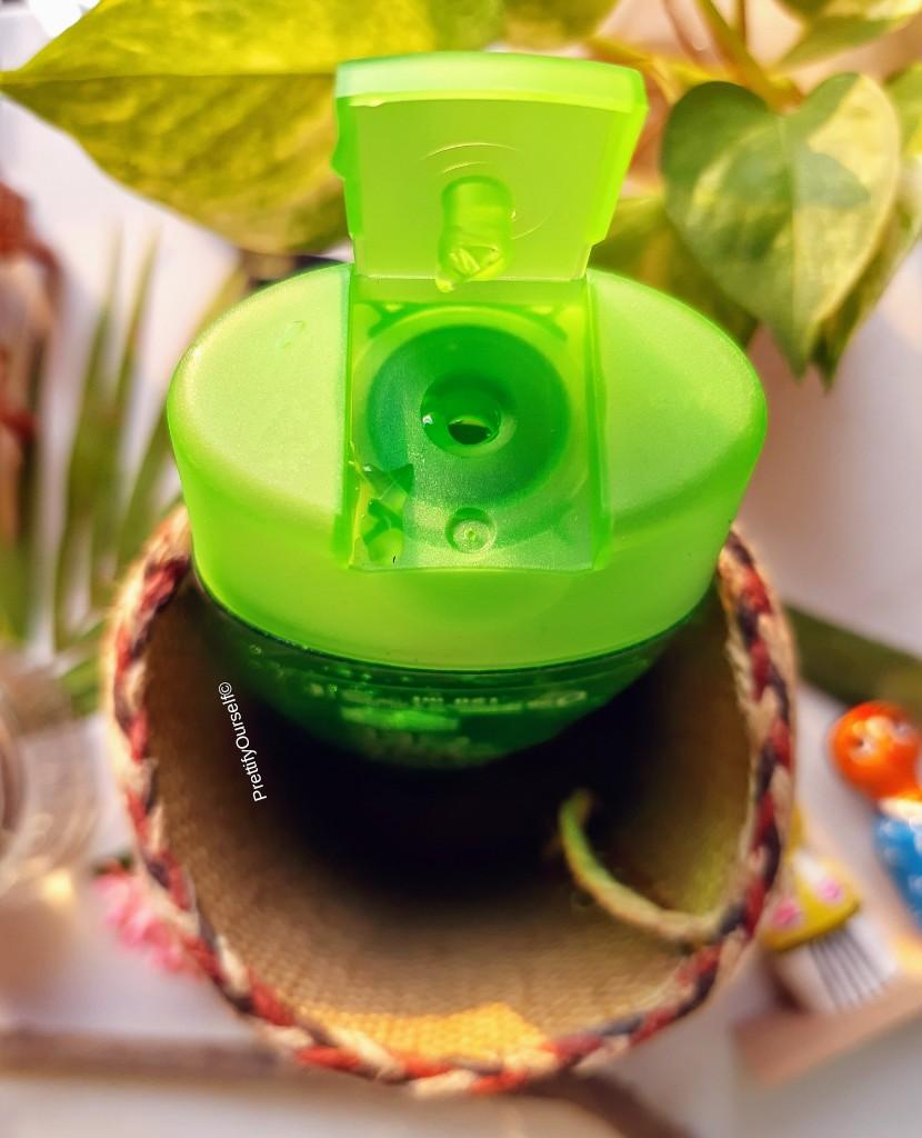 Vasu Aloe Vera Gel packaging