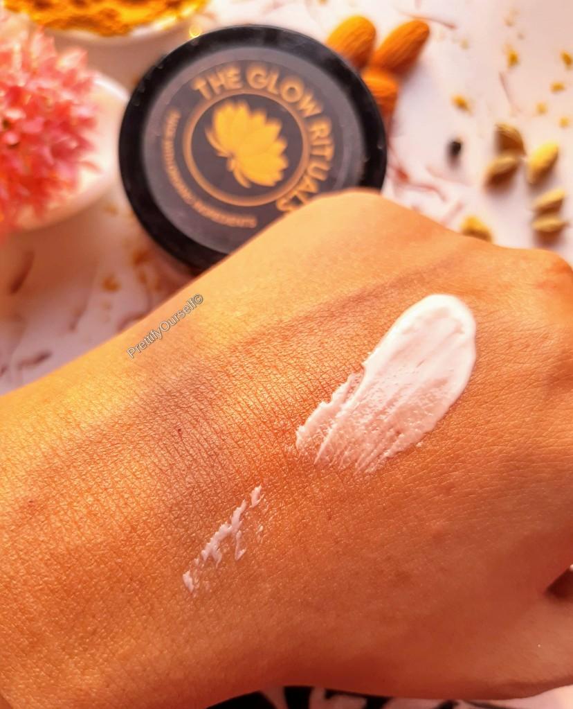 the glow rituals skin correcting cream