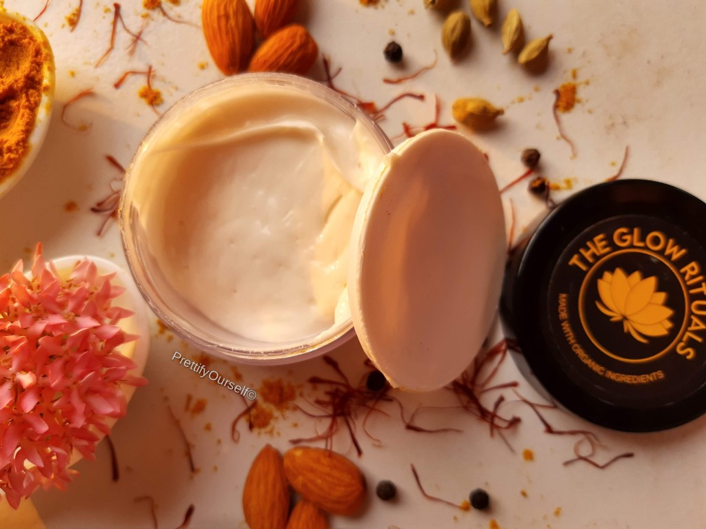 the glow rituals skin correcting cream packaging