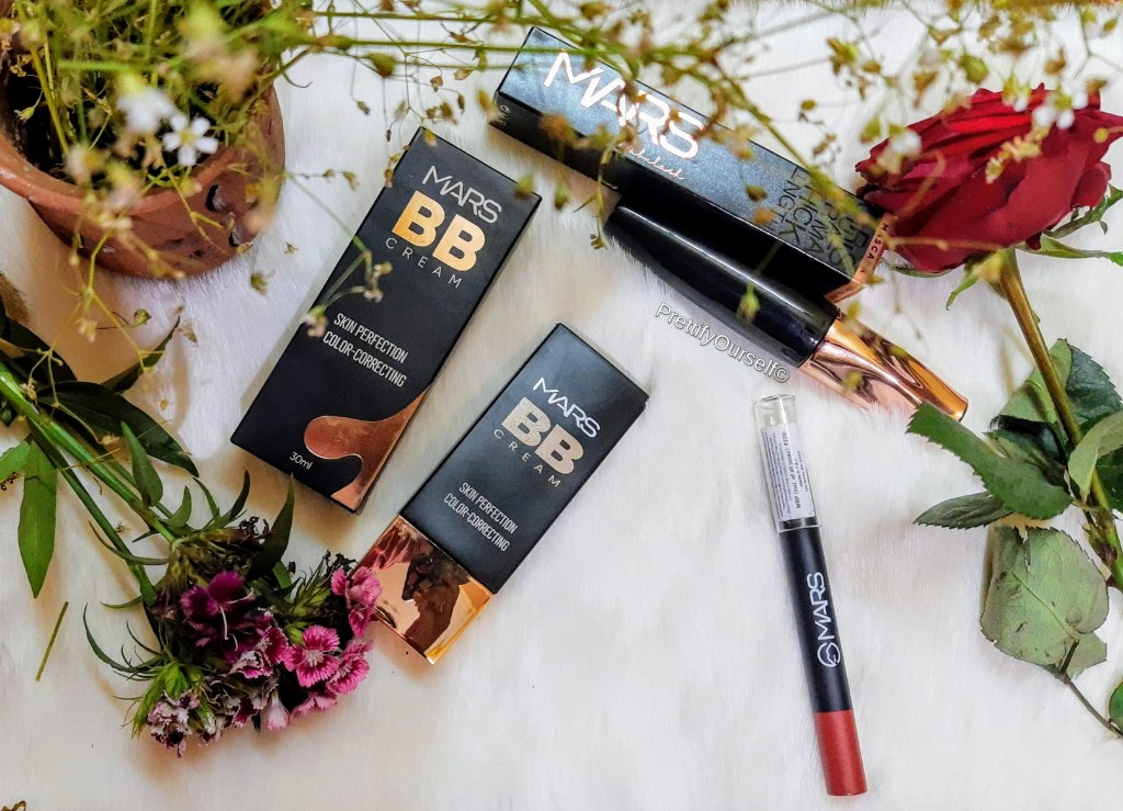 Mars Cosmetics products for basic summer makeup