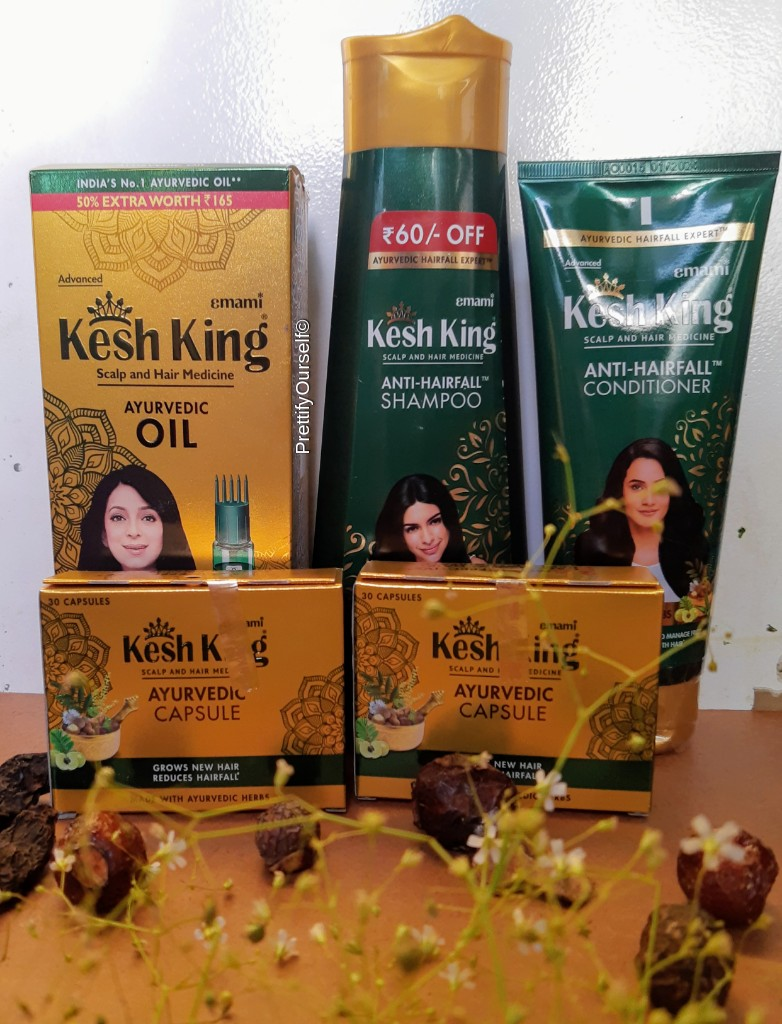 kesh king hair products review