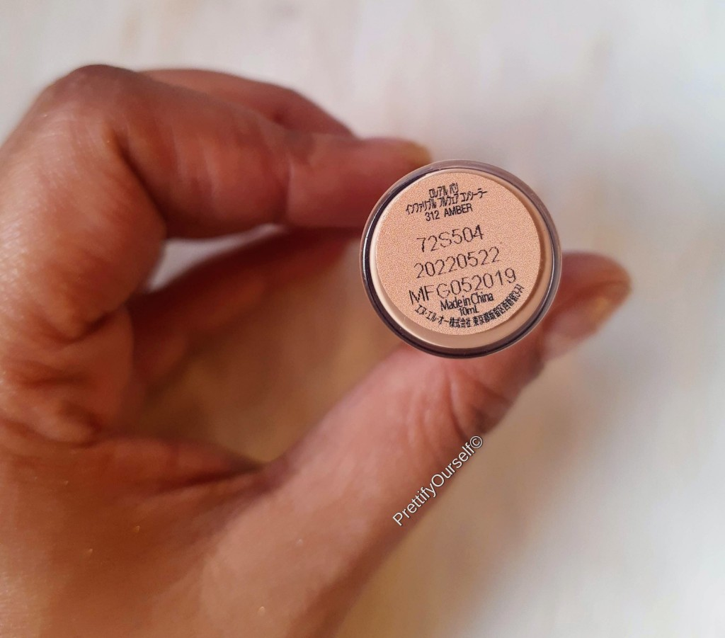 L'oreal Infallible Full Wear Concealer shade 312