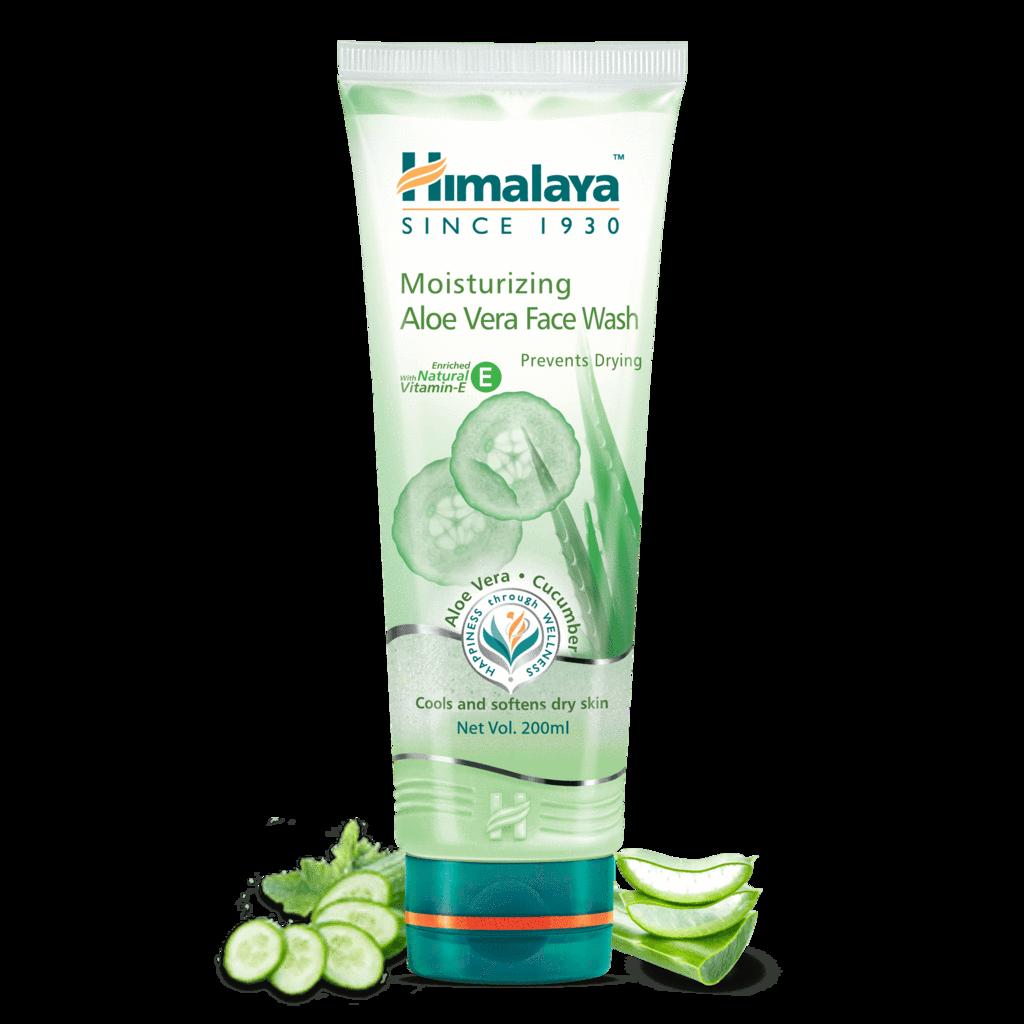 himalaya natural face wash for dry skin