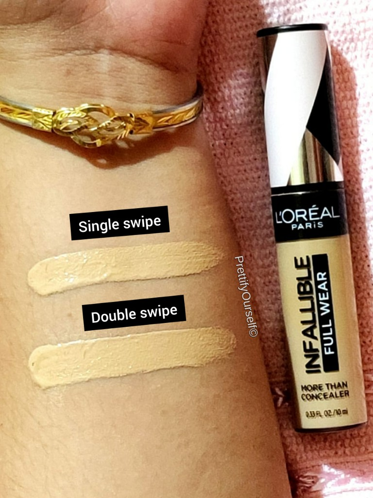 loreal infallible concealer review