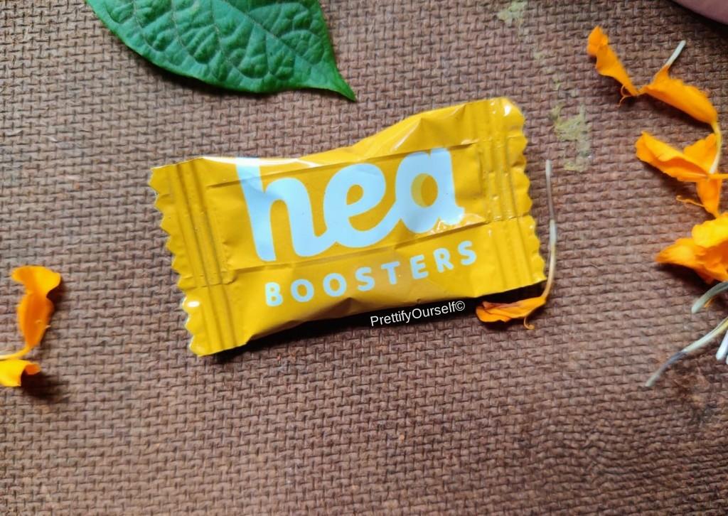 packaging of hea booster multivitamin gummy