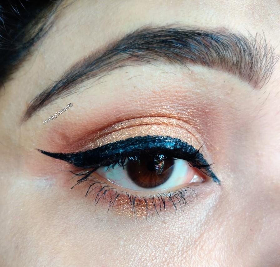 Lakme eyeconic eyeliner swatches